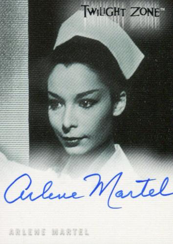 Twilight Zone 3 Shadows and Substance Arlene Martel Autograph Card A-57 Front