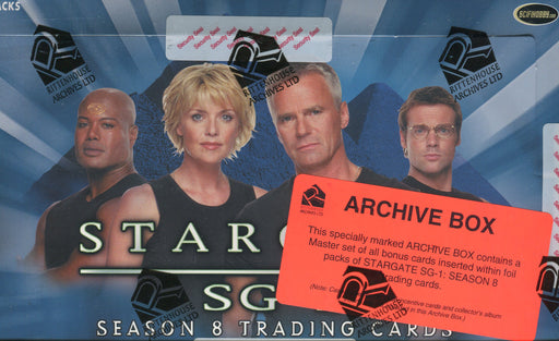 Stargate SG-1 Season 8 Archive Card Box   - TvMovieCards.com