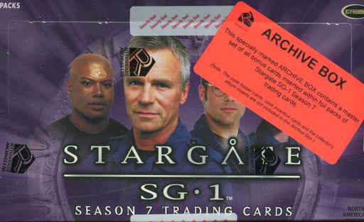 Stargate SG-1 Season 7 Archive Card Box   - TvMovieCards.com