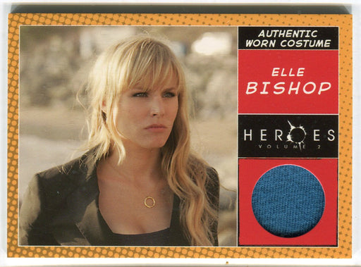 Heroes Volume 2 Elle Bishop's (Kristen Bell) Blouse Costume Card Topps 2008   - TvMovieCards.com