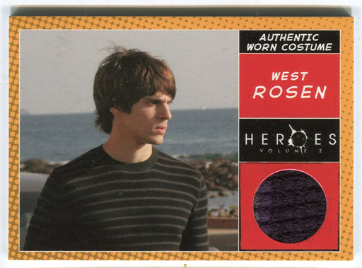 Heroes Volume 2 Nicholas D'Agosto West Rosen's Sweater Costume Card Topps 2008   - TvMovieCards.com