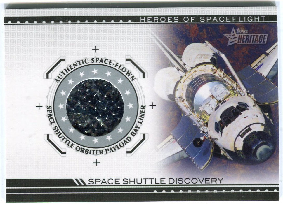 American Heritage Heroes HSFR-SSD4 Discovery Space Shuttle Payload BayLiner Card   - TvMovieCards.com