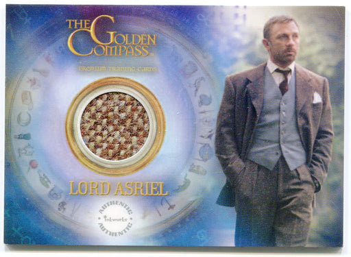 Golden Compass Daniel Craig Lord Asriel Piecework Costume Card PW1 Inkworks 2007   - TvMovieCards.com