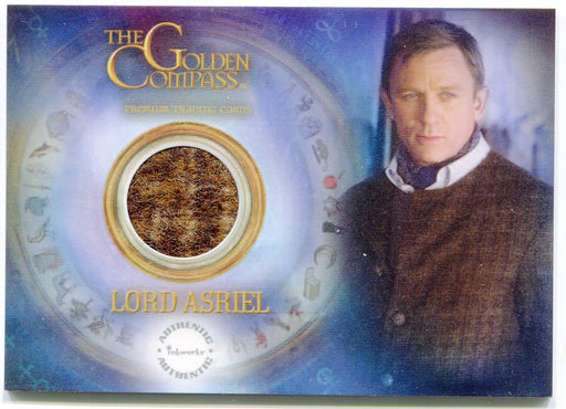 Golden Compass Lord Asriel's Tweed Jacket Piecework Card PW7 Inkworks 2007   - TvMovieCards.com