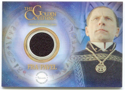 Golden Compass Fra Pavel's Coat Piecework Card PW11 Inkworks 2007   - TvMovieCards.com