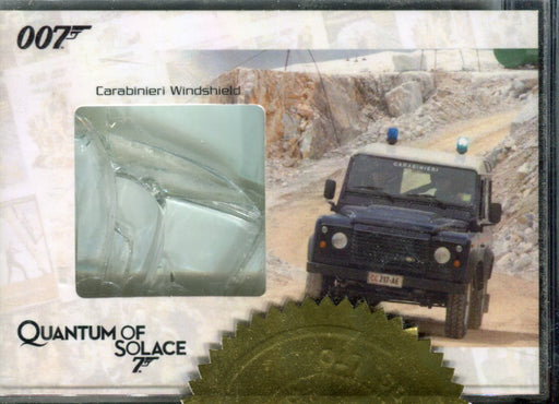 James Bond Heroes & Villians Carabinieri Windshield JBR12 Relic Card #320/333   - TvMovieCards.com