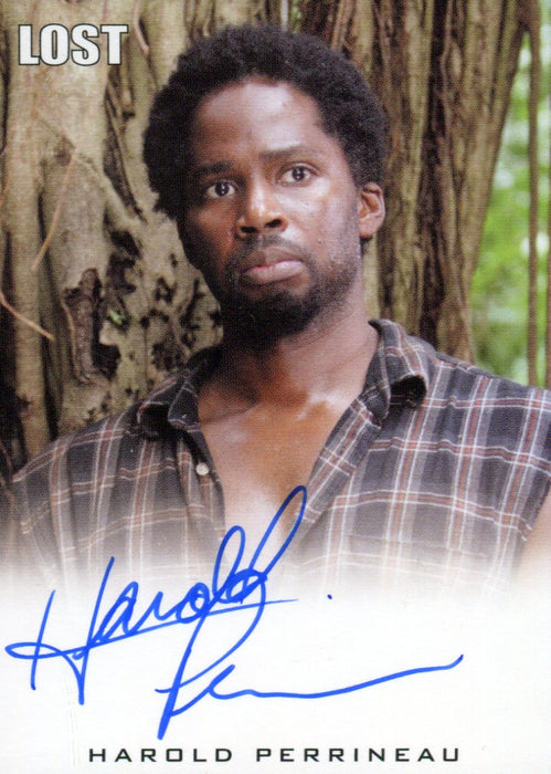 Lost Archives 2010 Harold Perrineau as Michael Dawson Autograph Card   - TvMovieCards.com