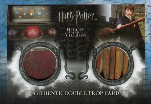Harry Potter Heroes & Villains Double Prop Card DP1 HP #155/190   - TvMovieCards.com