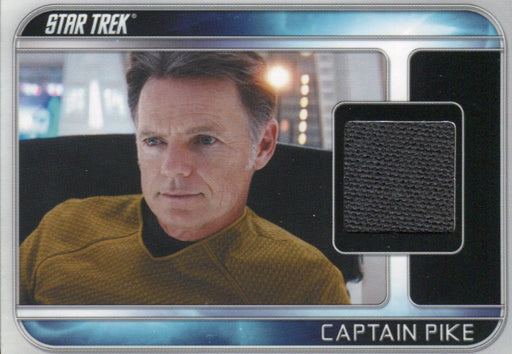 Star Trek The Movie 2009 Bruce Greenwood as Captain Pike Costume Card CC8   - TvMovieCards.com