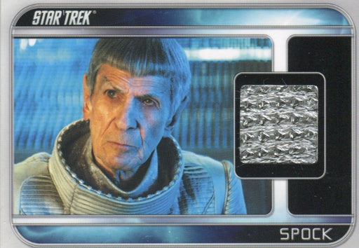 Star Trek The Movie 2009 Leonard Nimoy as Spock Costume Card CC6   - TvMovieCards.com
