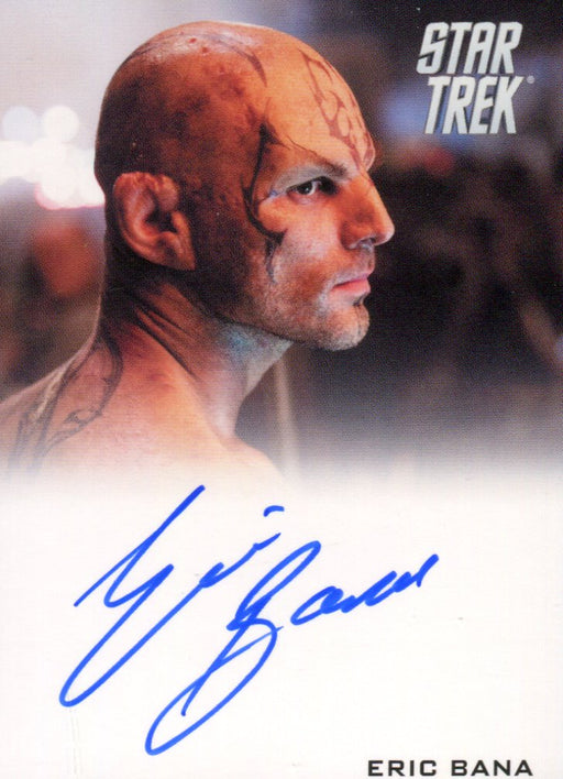 Star Trek The Movie 2009 Eric Bana as Nero Limited Autograph Card   - TvMovieCards.com