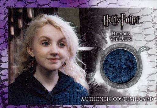 Harry Potter Heroes & Villains Luna Lovegood Costume Card HP SDCC10-HV1 #525/550   - TvMovieCards.com