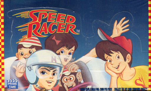 Speed Racer Vintage Card Box Prime Time 1993   - TvMovieCards.com