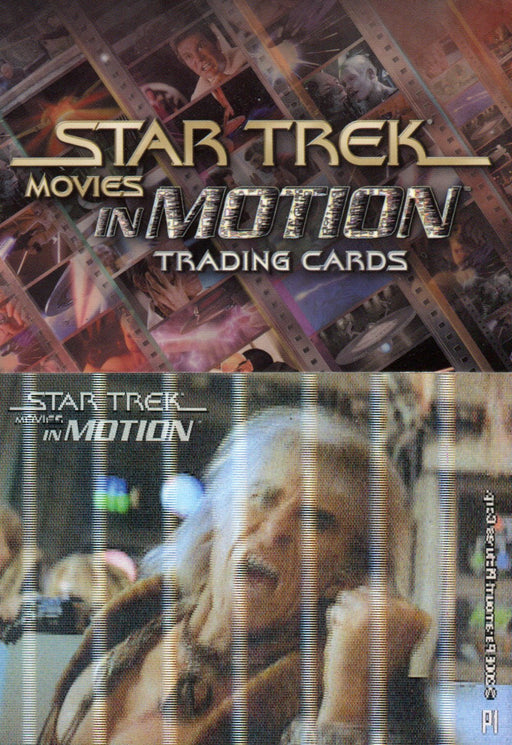 Star Trek Movies in Motion Promo Card Lot P1 P1 (2 Different)   - TvMovieCards.com