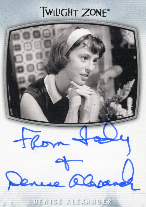 Twilight Zone Archives 2020 D. Alexander From Jody + Denise Autograph Card AI-31   - TvMovieCards.com