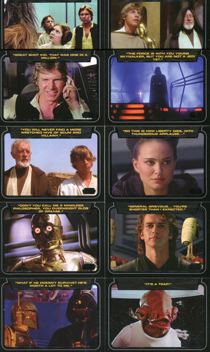 Star Wars Galactic Files Classic Lines Chase Card CL-1