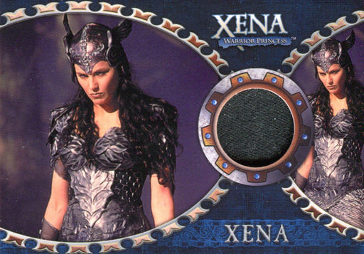 Xena Dangerous Liaisons Lucy Lawless as Xena Costume Card C8   - TvMovieCards.com
