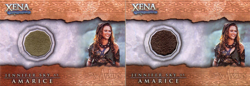 Xena Beauty and Brawn Jennifer Sky as Amarice Costume Card Variants C12   - TvMovieCards.com