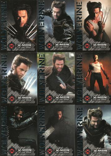 X-Men: The Last Stand Movie Portraits of a Hero Chase Card Set 9 Cards   - TvMovieCards.com