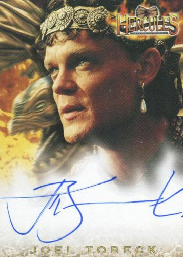 Hercules The Complete Journeys Joel Tobeck as King Beraeus Autograph Card A13   - TvMovieCards.com