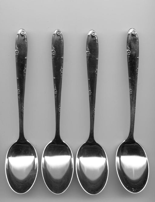 4 Madeira Teaspoons by Towle Sterling Silver 5-7/8 Inch   - TvMovieCards.com