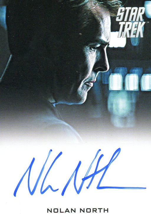 STAR TREK Movie Into Darkness 2014 Autograph Card Nolan North Bridge Officer   - TvMovieCards.com