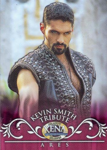 Xena Beauty and Brawn Kevin Smith Tribute Cell Chase Card KS8   - TvMovieCards.com