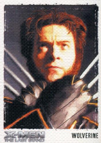 X-Men: The Last Stand Movie Art & Images of the X-Men Chase Card ART2   - TvMovieCards.com