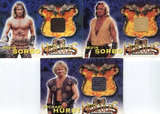 Hercules The Complete Journeys Expansion Costume Card Set HC1 thru HC3   - TvMovieCards.com