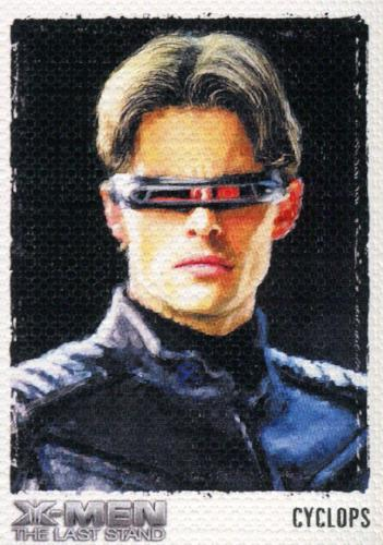 X-Men: The Last Stand Movie Art & Images of the X-Men Chase Card ART4   - TvMovieCards.com