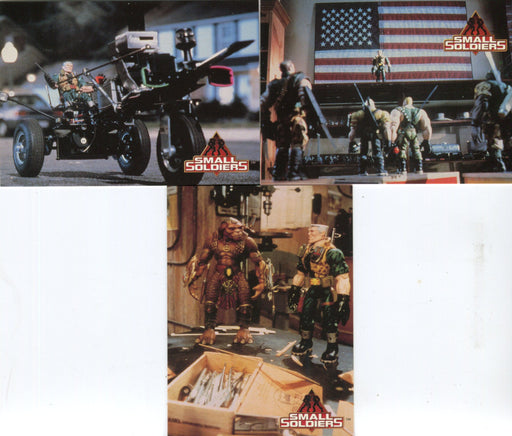 Small Soldiers Movie Promo Card Set P1 P2 P3 Inkworks 1998   - TvMovieCards.com