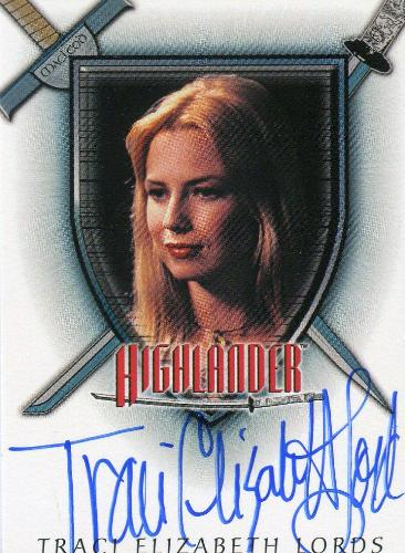 Highlander Complete Traci Elizabeth Lords as Greta Autograph Card A5   - TvMovieCards.com