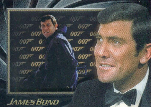 James Bond 50th Anniversary Series One George Lazenby Shadowbox Chase Card S2   - TvMovieCards.com