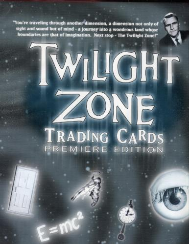 Twilight Zone Premiere Edition Empty Card Album   - TvMovieCards.com
