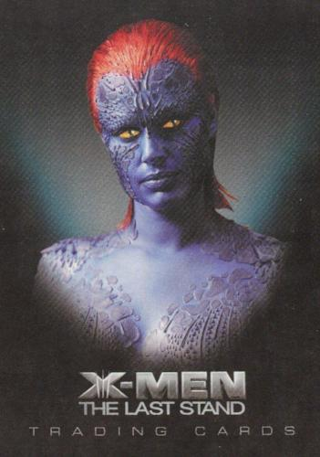 X-Men: The Last Stand Movie Promo Card P3   - TvMovieCards.com