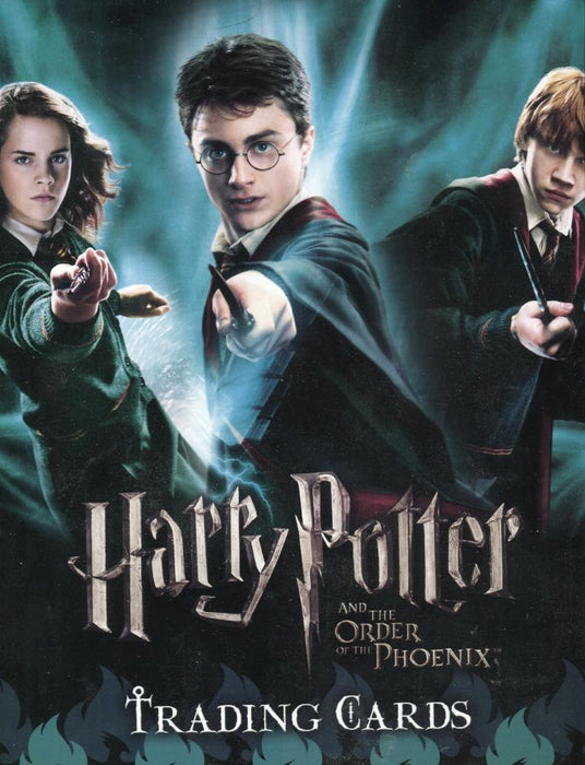 Harry Potter and the Order of the Phoenix Update Collector Card Album   - TvMovieCards.com
