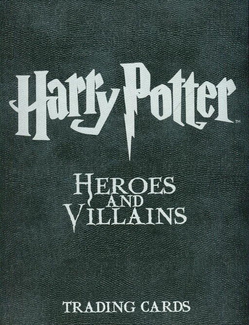 Harry Potter Heroes & Villains Collector Card Album   - TvMovieCards.com