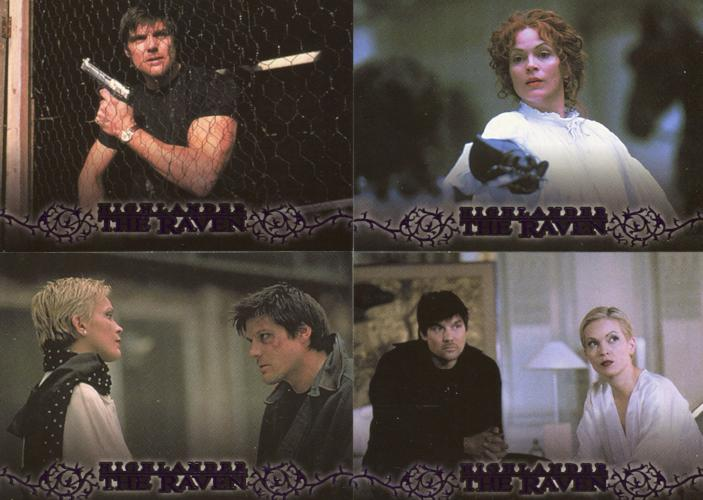 Highlander Complete The Raven Chase Card Set 22 Cards   - TvMovieCards.com