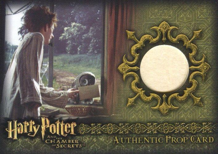 Harry Potter Chamber Secrets Letter from Hogwarts Prop Card HP Ci4 #41/64 Front