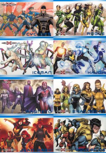 Marvel 75th Anniversary X-Men Evolution Chase Card Set XE1 thru XE13   - TvMovieCards.com