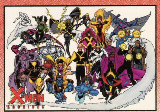 X-Men Archives Promo Card P3   - TvMovieCards.com