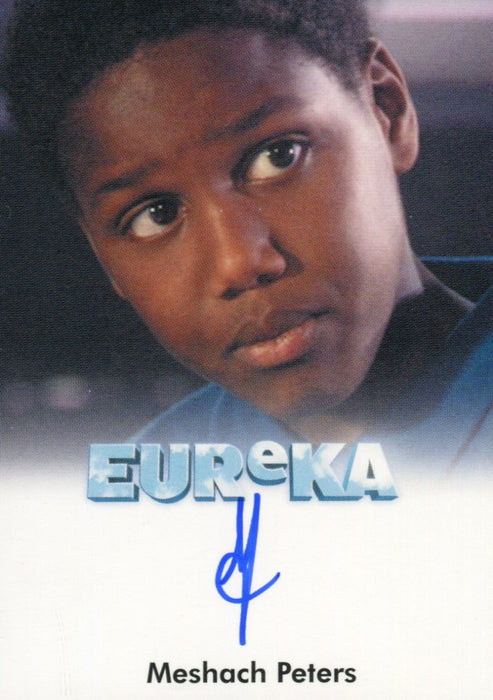Eureka Seasons 1 & 2 Meshach Peters as Kevin Blake Autograph Card   - TvMovieCards.com