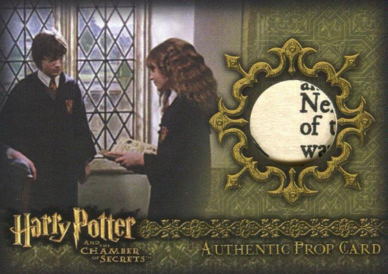 Harry Potter and the Chamber of Secrets Potions Book Prop Card HP P9 #091/115 Front