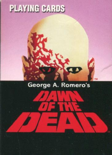 Dawn of the Dead Playing Card Deck 52 Cards 1978   - TvMovieCards.com
