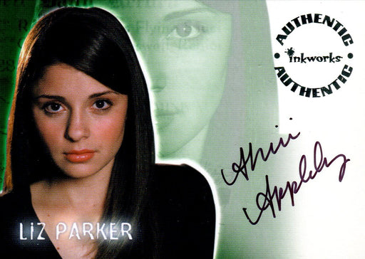 Roswell Season One Shiri Appleby as Liz Parker Autograph Card A2   - TvMovieCards.com
