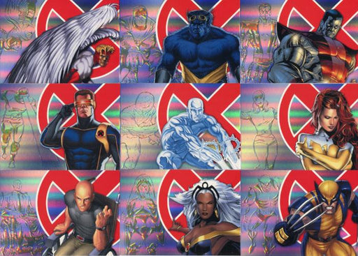 X-Men Archives Legendary Heroes Chase Card Set LH1 thru LH9   - TvMovieCards.com