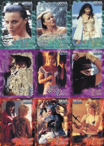 Xena Season Six Wet, Wicked & Wild Chase Card Set WWW1 - WWW9   - TvMovieCards.com