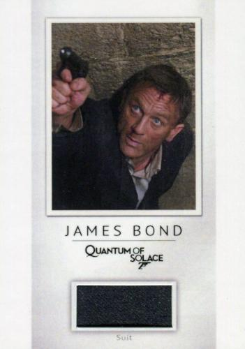 James Bond Classics 2016 Daniel Craig Relic Costume Card PR5 #039/200   - TvMovieCards.com