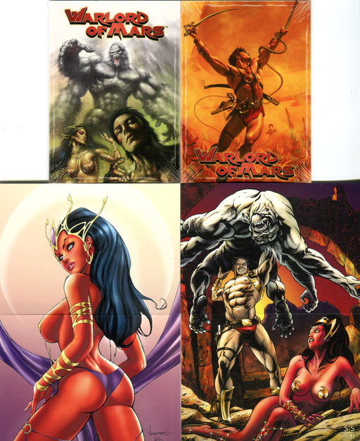 Warlord of Mars Promo Card Lot 6 Cards Breygent 2012   - TvMovieCards.com