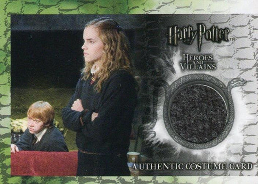Harry Potter Heroes & Villains Hermione Granger Costume Card C2 HP #039/130   - TvMovieCards.com